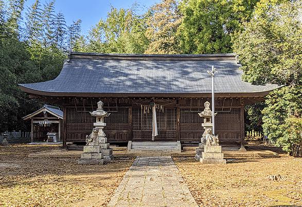 東実の佐保神社の写真